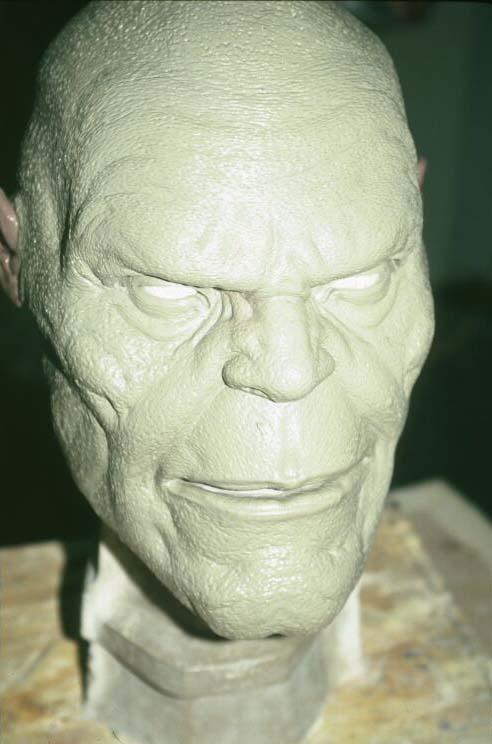 Goro Head Close-Up