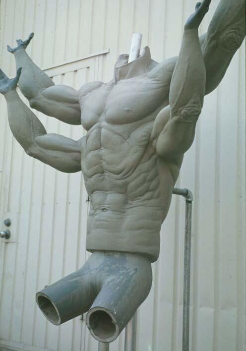 Goro Body Sculpture
