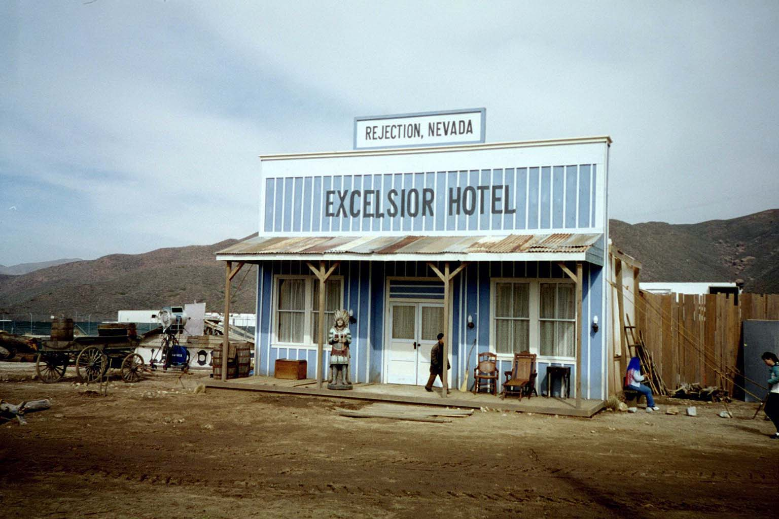 Excelsior Hotel, Rejection Nevada