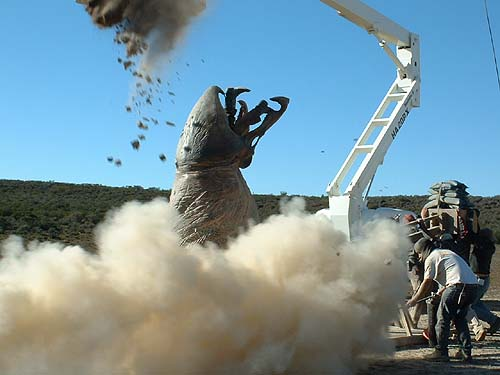 Graboid in action
