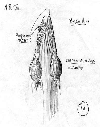 Ass Blaster Sketch - Tail