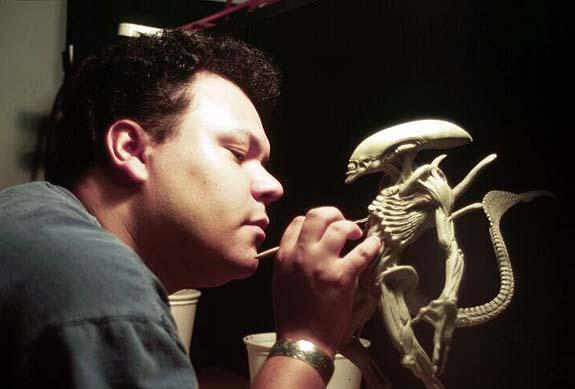 Alien Maquette