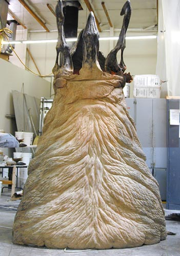 Graboid in the effects shop
