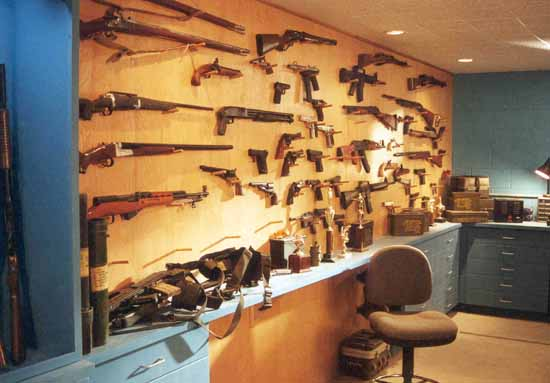 The Gun Wall