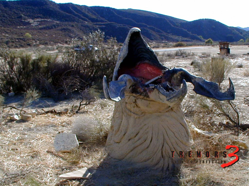 Graboid Head - wallpaper