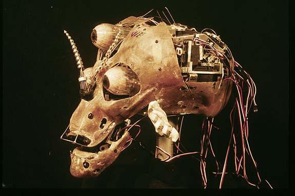 Martian under skull
