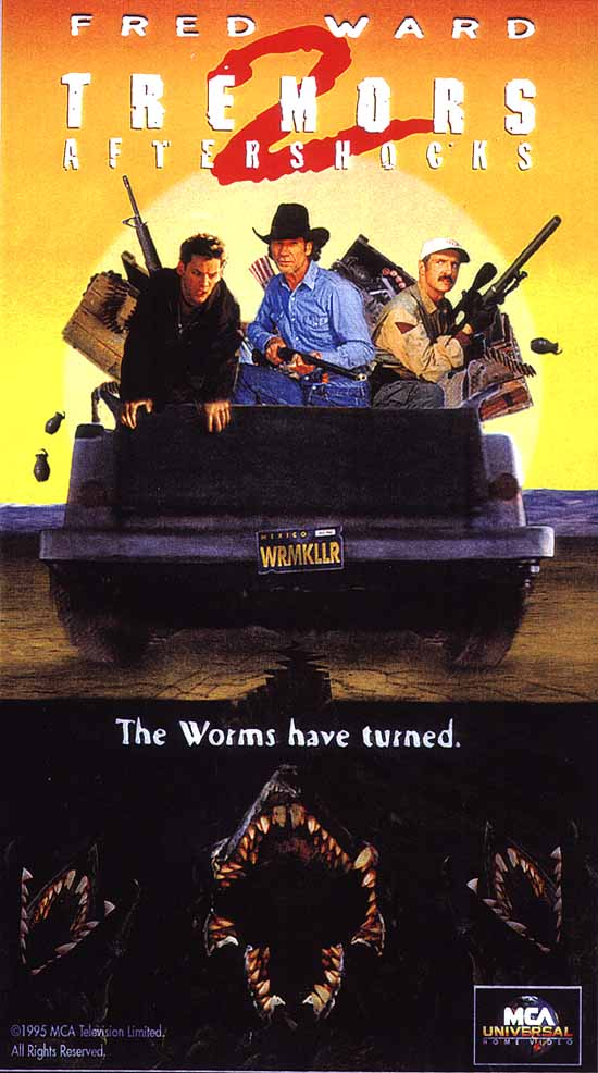Tremors II: Aftershocks movie